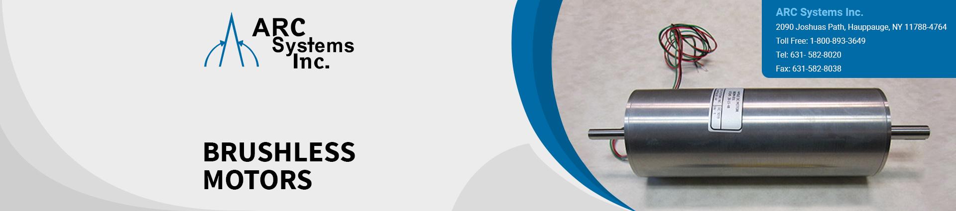 brushless-motors banner ARC Systems Inc